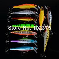 Классический дизайн рыбалки приманки 10 цветов 13 см / 28.4 g рыбалка решать 20шт/много Рыбалка приманки приманки огромные гольян