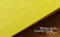 Set Pure color rainbow writing paper and envelope  & letter paper envelope /note paper/New Arrivel/Stationery/ A0563