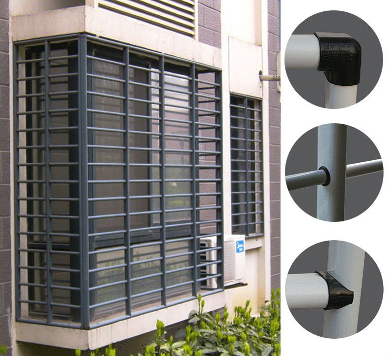 28 home gallery grill design balcony grills cast for Modern zen window grills design