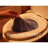 Сиденье для унитаза Warmer Toilet Seat Cover Colorful Mat Bathroom Mat Toilet Sets Washable Cloth Seat Cover Pad O Type Soft 200 pcs