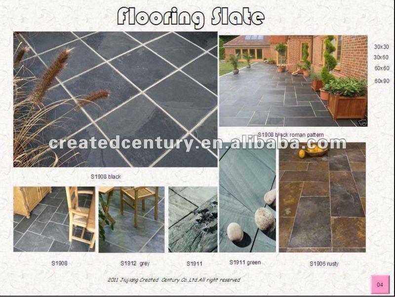 Zwarte leistenen vloer voor keuken betonmolen leisteen product id ...