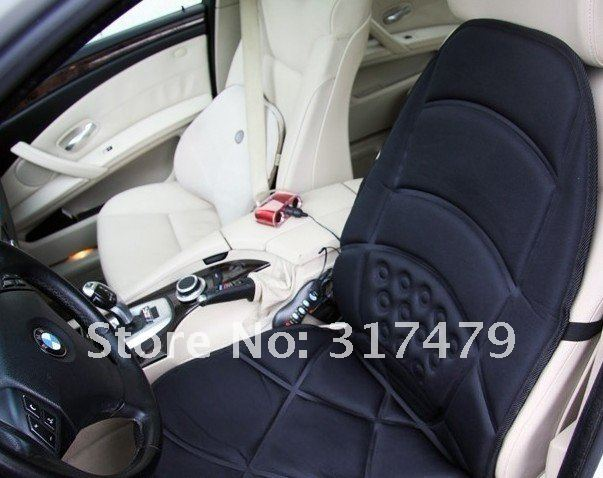 Wholesale and Free shipping Walmart Car Chair Back Seat massage , Heated Cushion hot Warmer - Sample price