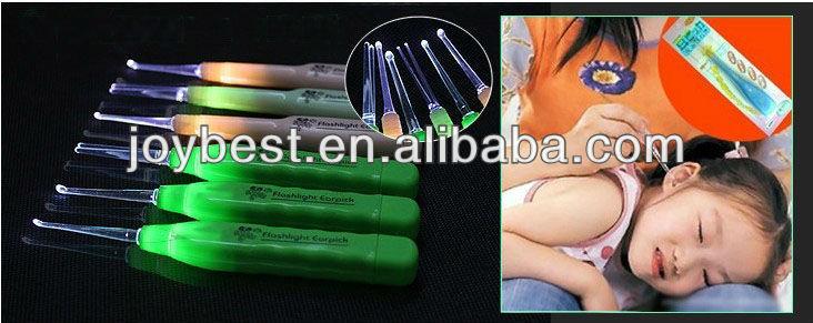 Plastic led earpick