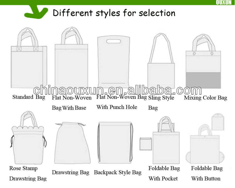fashion customized promotion nylon foldable shopping bag