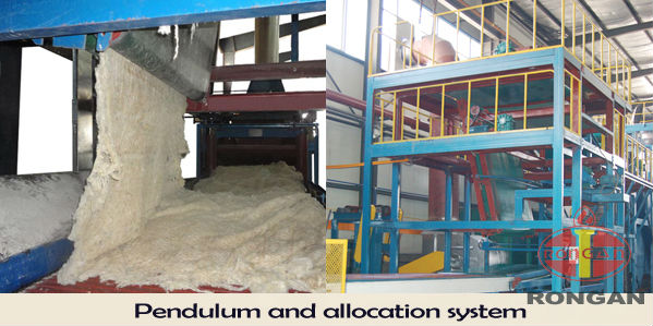 rock wool line melting furnace