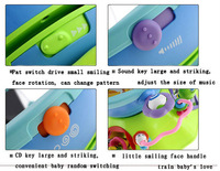 2in1 Multi-function CD games player Kaleidoscope produce attractive design, make the game fun unlimited BBStar