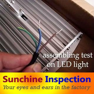 Assembling-test-on-LED