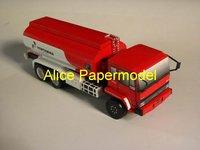 Фигурка героя мультфильма papermodel] 28 1:35 engineering equipment models truck models car models