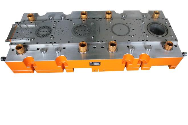 progressive stamping mould for motor stator rotor lamination