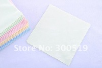 H1581 MICROFIBER Glasses Cleaning Cloth 14X14cm Glasses Computer Moble LCD Cleaning Cloth Free Shipping 100sheets/lot