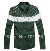 New Men's Shirts, Men 's long sleeve shirt Size:M-XXXL Y3136