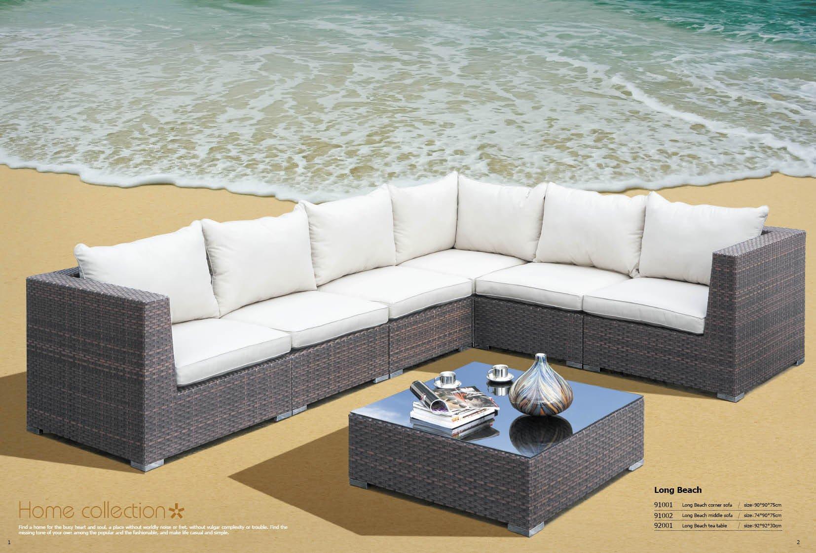 Gartenmöbel Couch Polyrattan sofa preisvergleich billiger Gartenm%c