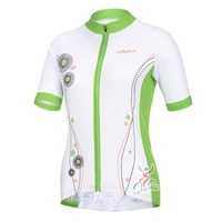 Женский костюм для велоспорта Ladies Cycling Short sleeve Jersey Only bicycle clothing Ciclismo Maillot