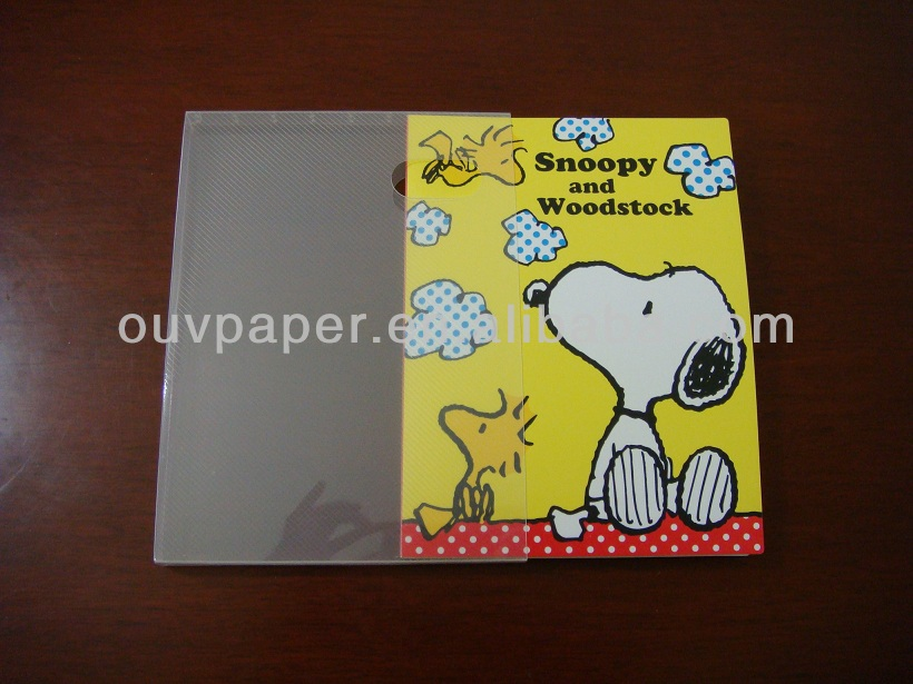 Manufacturer selling customized pvc sheet for photo album