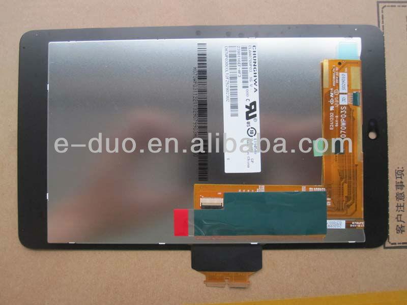 Для Asus Google Nexus 7 ME370T 7 дюймов жк-дисплей с сенсорным экраном дигитайзер ассамблея стекло объектива Смартфоны и аксессу