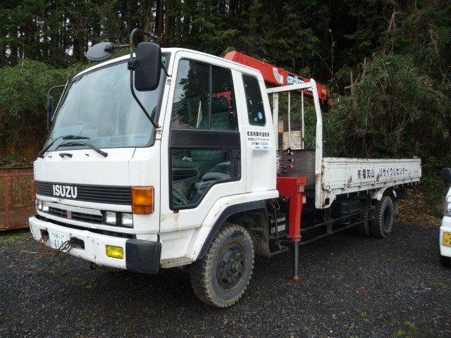 4T CRANE ISUZU FOWARD USED TRUCK
