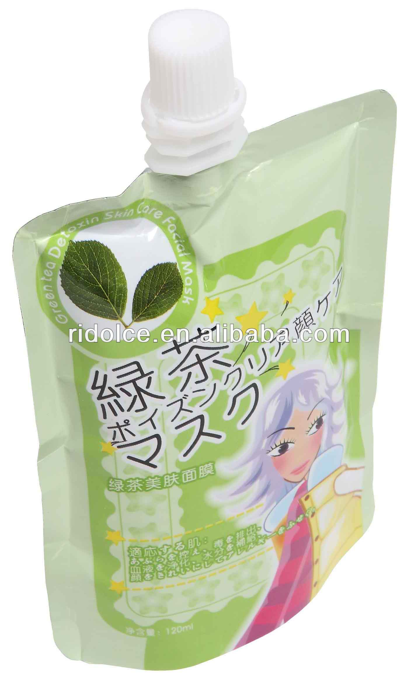 Facial Mask Green Tea Detoxin Skin Care