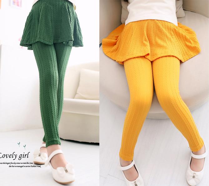 2015 New Lovely Girl Legging Children Skirt/Pants ...