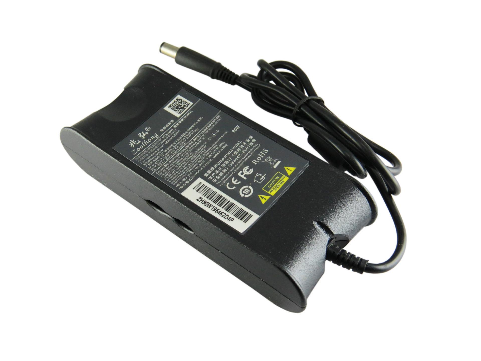 19.5 V 4.62 A 90W מחשב נייד מתאם מתח ה AC מטען של DELL, AD-90195D PA-1900-01D3 DF266 M20 M60 M65 M70 1410 1420 7.4 מ