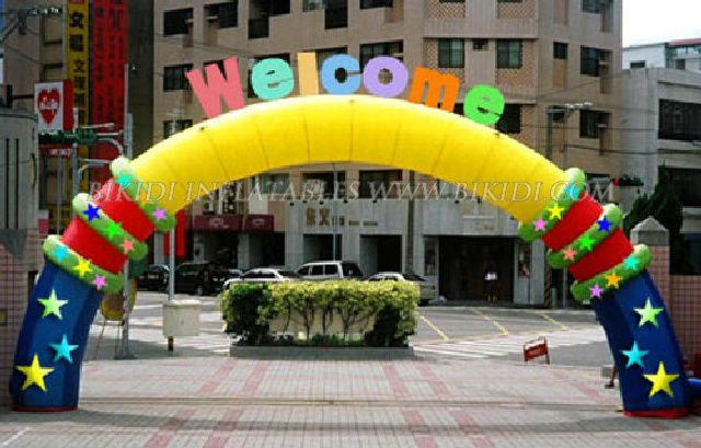 Entrance Arch Models Inflatable Entrance Arch