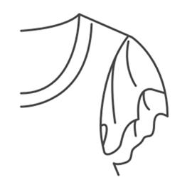 Рукав-бабочка