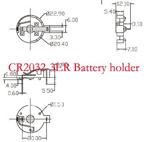 application for coin cell battery