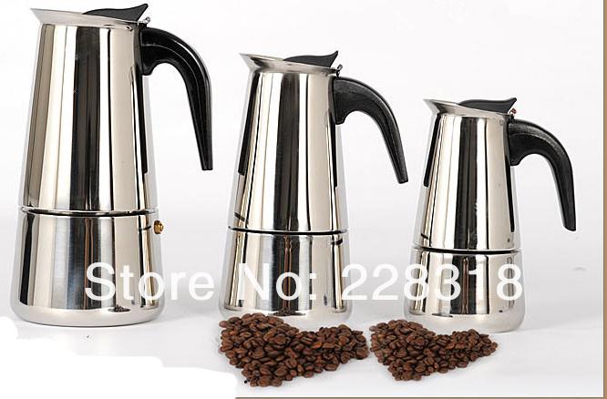 aliexpress com  acheter nouveau 4 copos pour 2 3 personnes percolateur stove top cafeti u00e8re moka