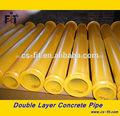2014 la fábrica de china de xcmg/putzmeister/schwing/sany/zoomlion bomba de hormigón la entrega del tubo