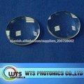 wts plano de fibra óptica de la lente convexa