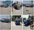 Tanque de agua potable de camiones/pequeña cisterna de agua de camiones con grúa