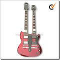 Guitarra cabeza doble / doble cuello guitarras eléctricas(EGD240-1)