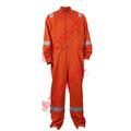 de color naranja nfpa2112 de algodón retardante de llama de aceite sobretodo campo de petróleo y gas de campo