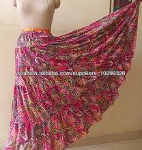 faldas impresas