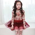 Venta al por mayor de elsa congelados litlle vestido de las niñas, vestidos para niñas 4-10 de años de edad