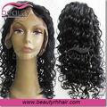 Pelo brasileño peluca profunda ola humana para las mujeres negras