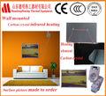 montado en la pared del panel de calefacción por infrarrojos