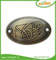 personalizado 2014 colgar las etiquetas de metal placas de identificación