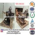 resina de ouro antique estátua soldado