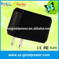 ETL CE FCC ROHS adaptador de corriente continua aprobación fabricante 12v 1a