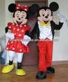 lindo traje de la mascota de mickey minnie mouse traje de la mascota