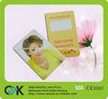Titular de la tarjeta de metro de plástico personalizada de alta calidad en la promoción