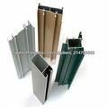 series 6000 anodizado de perfiles de aluminio industrial personalizado