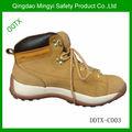 Goma de cuero genuino únicos zapatos botas de trabajo importados de China
