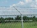 alambre de púas de la cerca