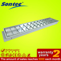 t8 2x36w grille luminaire fluorescent