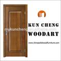 Nuevo producto/sólido de madera de madera puerta de entrada de la hoja/proveedor de china