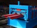 Metal o rolo da plataforma e da plataforma de assoalho que forma a máquina com o rolo do aço 45#