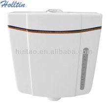 cuarto de baño ht681 inodoro de plástico tanque de agua de lavado de doble suministro de agua
