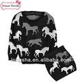 Bebé niña vestido de suéter suéter falda vestido de invierno para 2-7 baby girls