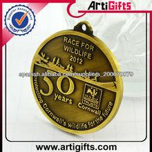 Alta calidad del metal de bronce medalla barato